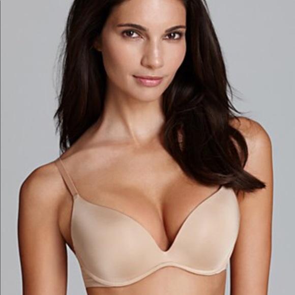 0995f80d2e Calvin Klein Other - Calvin Klein Nude Push-up Bra Size 32A